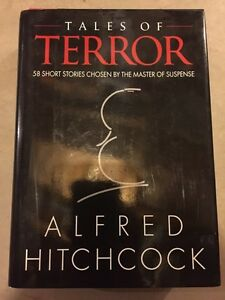 ALFRED HITCHCOCK large hard cover book available