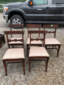 1920's chairs