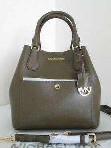 Michael Kors Greenwich Olive purse
