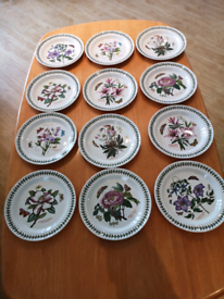 "New-Unused 12 x Portmeirion Botanic Garden 10 "" Seconds plates."