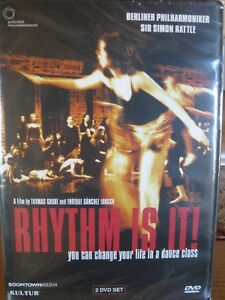 RYTHM IS IT! you can change your life in a dance class. 2DVDset