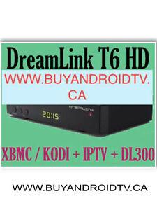 Dreamlink T6 HD Satellite Receiver + XBMC / KODI w/DL-300
