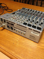 16 Channel Power Mixer  MX 1604A BEHRINGER