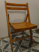 Wooden Vintage Chair from the 60s or earlier??