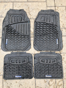Michelin winter floor mats for car 4 piece set in black