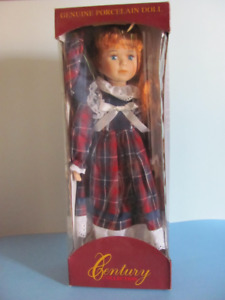 "Century Collection ""Porcelain Doll"" NEW Approx 15"" Zellers 20XX"