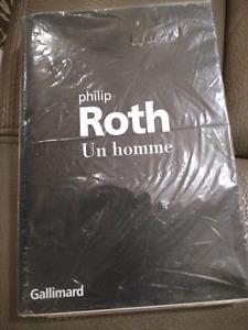 Roman Un homme de Philip Roth