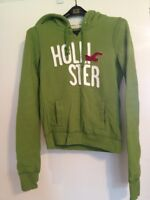 Small Green Hollister Hoodie