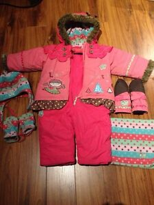 Souris Mini snowsuit with matching accessories 12-18 months