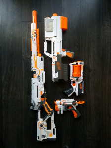 Nerf Whiteout Series Complete for Sale