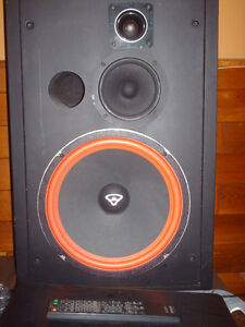 cerwin vega D-5 speakers