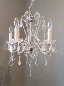 Crystal chandelier - 2 available
