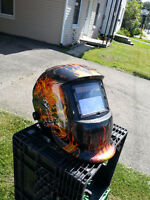 SOLAR POWERED WELDING HELMET |!