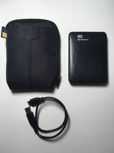 1 TB My Passport External Hard Drive with Case