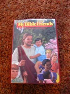 MY BIBLE FRIENDS in CASSETTES-NEW.  True stories from the Bible