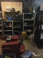 Large Assortment of Tools and Tool boxes