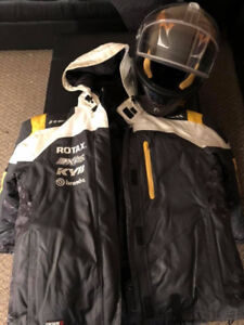 Ladies skidoo jacket and helmet!