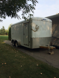 7'x14' Enclosed Utility Trailer