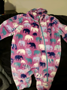 Hatley Elephant 6-12 Month Winter Bundler