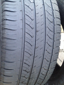 2 Michelin Summer tires 245/60/18