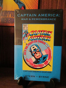 CAPTAIN AMERICA:WAR & REMEMBRANCE hard cover