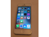 Apple iPhone 5 16GB white locked to Ee £80 (5430)