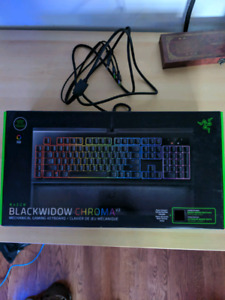 Clavier Razer blackwidow chroma v2