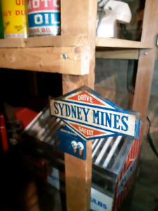 Sydney Mines Irving oil license plate topper