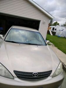 2003 Toyota camry safetied with Remote start low kms