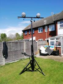 Goliath studio t bar light speaker stand. Quality Tripod T-bar for sale  Queenborough, Kent