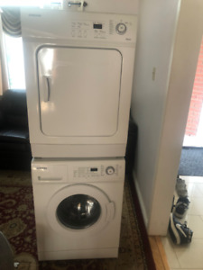 Samsung 24 inch apartment size washer and dryer for sale