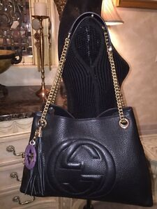 New Authentic Gucci Large Soho Bag