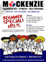 Taekwon-Do Beginner Special > Bedford - Hammonds Plains