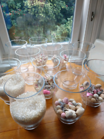 13 X Stunning Wedding Table Piece Vases For Sale! ***NOW REDUCED***