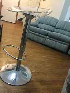 TRENDY CLEAR STOOLS London Ontario image 1