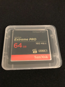 SanDisk - Extreme Pro 160mb/s - 64 GB - Compact Flash