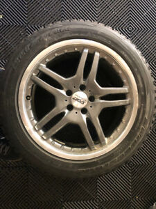 "Bridgestone Blizzak - 19"" Snow Tires on Rims $1100"