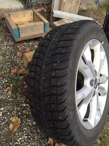 Set of 4 winter tires  Prince George British Columbia image 2