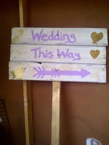 WEDDING SIGNSand CUSTOM SIGNS...WOODEN