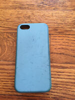 iPhone 5 Blue Apple Back Cover Case