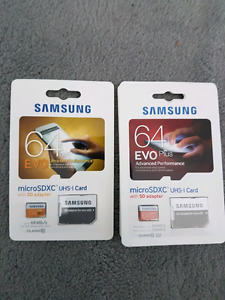 Micro SD cards - Brand new