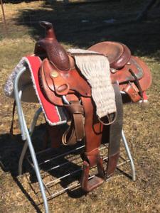 Santa Fe Cutting saddle