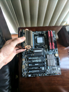 AMD FX-8350 processor (4.0 GHz, 8 Cores, stock cooler)