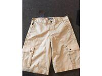 Men's armani shorts brand new