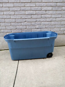 storage container with wheels(no lid) for sale _#234343________