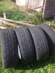 4 Wild Country tires