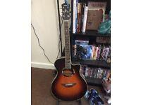 Yamaha Electro Acoustic Guitar Sunburst APX500ii