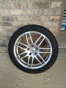 Winter Tires & Rims 255/45 R17