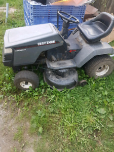 Craftsman 12.5hp riding mower