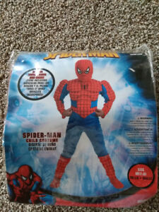Spiderman costume - muscle arms and chest